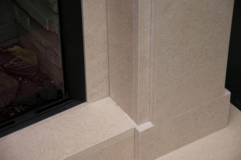 Jersey Limestone Fireplace Bottom)