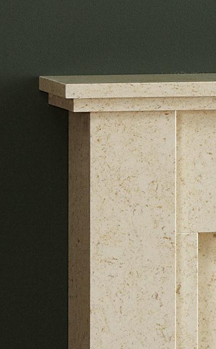 Natura Pimlico Micro Marble Fireplace Top