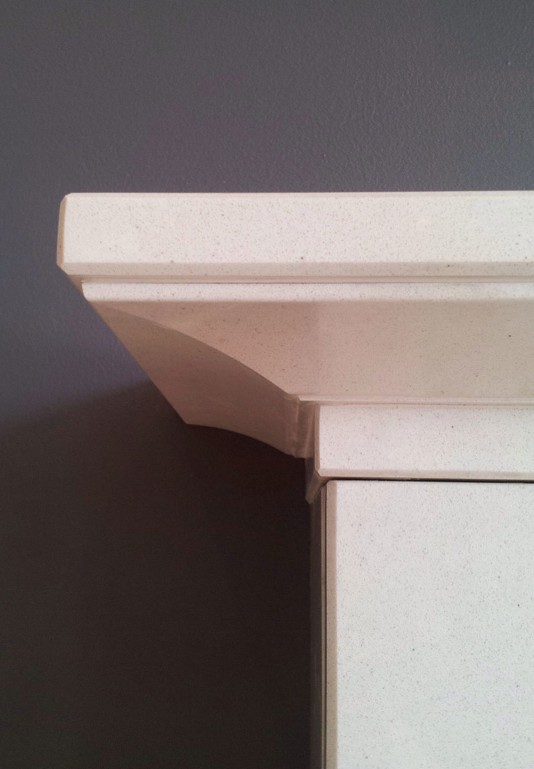 Natura Priory Micro Marble Fireplace Top