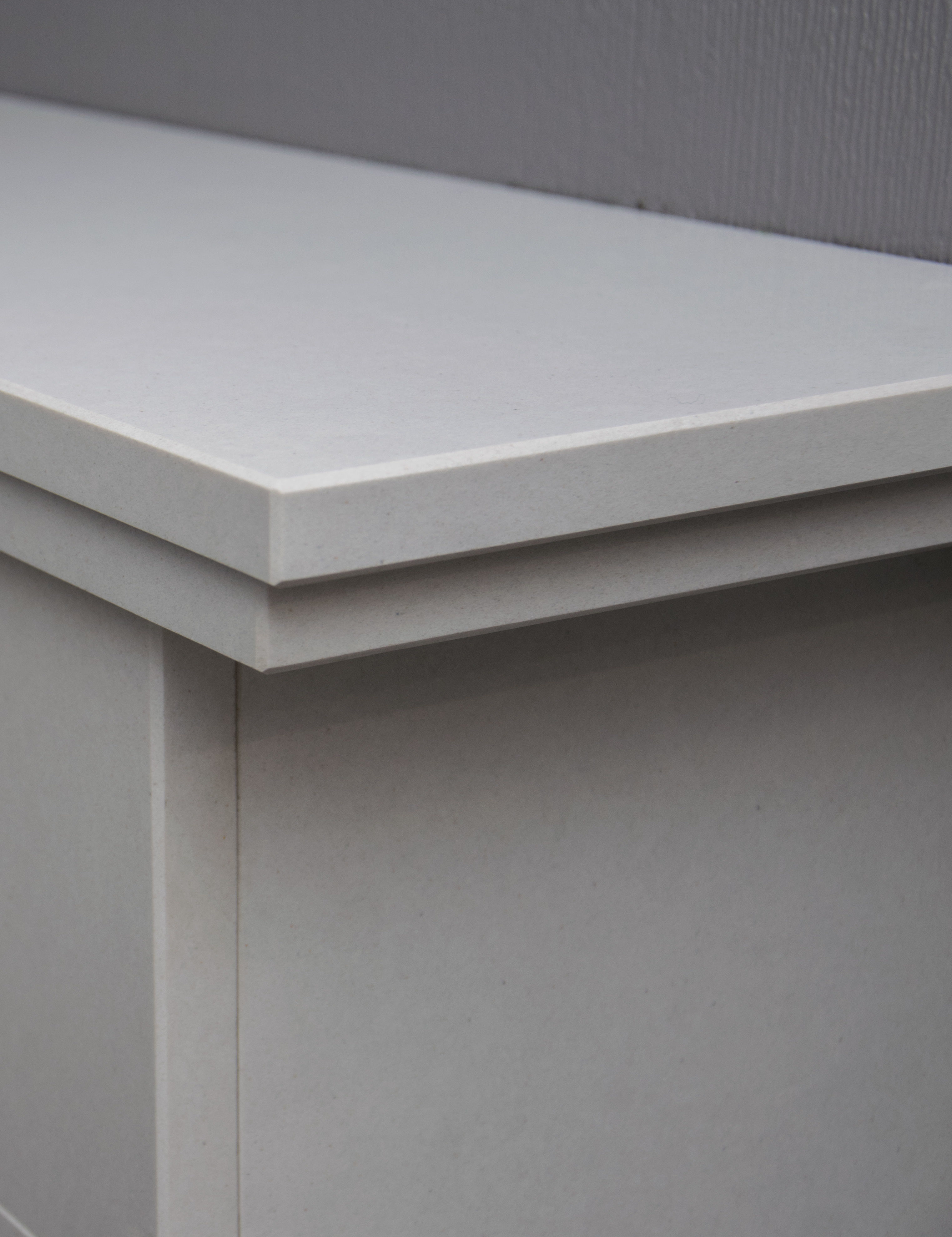 Natura Micro Marble Fireplace Top